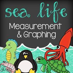 """Adorable measurement and graphing activity!(Please """"follow me"""" to get notified…"""