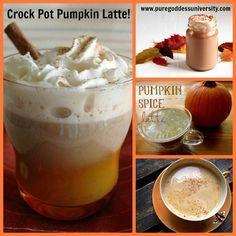 crockpot pumpkin latte