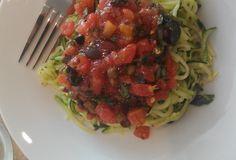 Fast Paleo » Mediterranean Zoodles (Zucchini Noodles) - Paleo Recipe Sharing Site