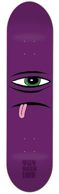 Toy Machine Sect Face 8.0 Skateboard Deck - view large