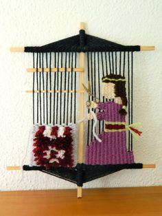 Telaradas: Amuleto de tejedora