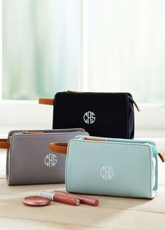 Makeup bags are so great for traveling and staying organized.  Your bridesmaid will be touched knowing that these were custom made just for them and will be sure to bring them around with them everywhere!
