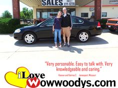 """""""Very personable. Easy to talk with. Very knowledgeable and caring.""""  Keenan and Katrina C.  Jamesport, Missouri"""