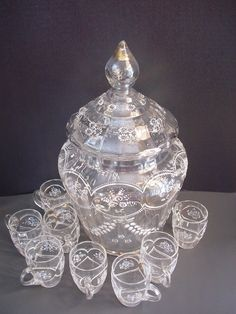 Victorian Punch Bowl