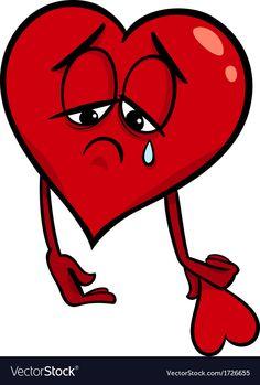 Illustration about Cartoon Illustration of Sad Broken Heart in Love on Valentine Day. Illustration of feelings, design, fall - 35323217 Cartoon Drawing Tutorial, Cute Cartoon Drawings, Cartoon Girl Drawing, Disney Drawings, Cartoon Images, Broken Heart Pictures, Broken Heart Drawings, Foto Software, Animated Emoticons