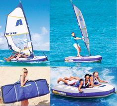 Water Skeeter River Runner Personal Pontoon Boat Toys