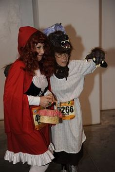 Little Red Riding Hood and Big Bad Wolf Runners