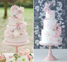 Selecionamos 14 bolos com flor de cerejeira para compor a decoração da festa de 15 anos. Tem ideias para todos os gostos!