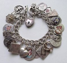 eCharmony Charm Bracelet Collection - 2 Angela Angie Angels Love Token Charms