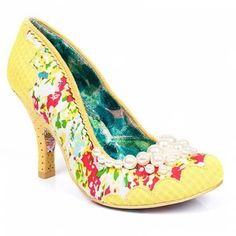 Pearly Girly is back! In delightful yellow gingham & floral fabrics www.irregularchoice.com ☀️
