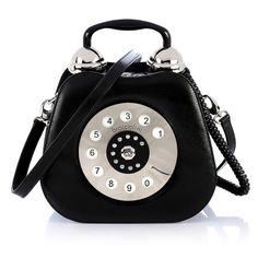 d3dd88d1ff 404 Not Found 1. TELEFONO - BRACCIALINI - Rigid leather handbag ...