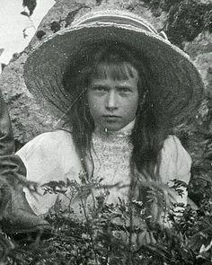 Grand Duchess Anastasia Nikolaevna Romanova of Russia.