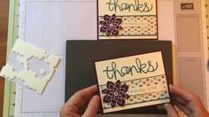 Stampin Up Bohemian Crazy About You Thanks