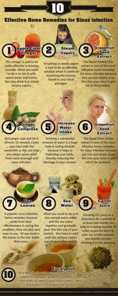 Get the rid of Sinus infection with these very simple #home Remedies.