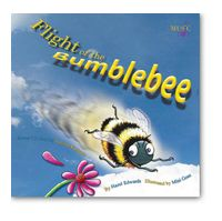 Flight of the Bumblebee (9781921042034) by Hazel Edwards, illustrated by Mini Goss Narrated by Antonia Kidman Hardback with CD