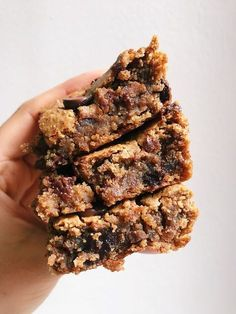 Chocolate Chip Chickpea Blondies (Vegan, Gluten-Free, Refined Sugar-Free) - as featured on the TODAY Show! - DADAEATS