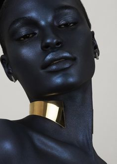ideas for skin black models Black Women Art, Black Art, Black Girls, Black And White Girl, Color Black, My Black Is Beautiful, Beautiful People, Beautiful Oops, Art Beauté