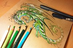Nature dragon by AlviaAlcedo on DeviantArt