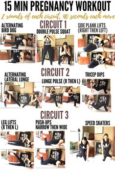 I'm back with an at-home workout–but this one looks a little different as I am currently 18 weeks pregnant! This 15 Minute Prenatal Workout is great for both the first trimester and sec… Post Pregnancy Workout, Baby Workout, Prenatal Workout, Pregnancy Health, Pregnancy Advice, Pregnancy Fitness, Prenatal Yoga, Pregnancy Announcements, Pregnancy Exercise First Trimester