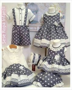 Image gallery – Page 489414684496069552 – Artofit Little Girl Outfits, Little Girl Dresses, Kids Outfits, Baby Girl Dresses, Baby Dress, Cute Dresses, Baby Kostüm, Girl Dress Patterns, Frocks For Girls