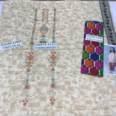 Pakistani Kids Dresses, Embroidery, The Originals, Prints, Needlepoint, Crewel Embroidery, Embroidery Stitches