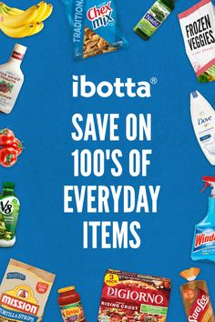 You could be saving over $30 a month by using the free Ibotta app before you go shopping - Install now and get $10 just for trying.