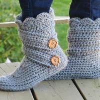 Woman's Slipper Boots,Fits US sizes 5-10