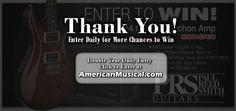 Win a Paul Reed Smith Custom 24 10 Top #Guitar and Archon 1x12 Combo #Amplifier    http://woobox.com/vk56gu/cura3t