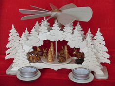 German Christmas Pyramid Christmas Decoration