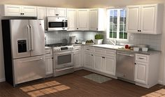 10' x 10' Kitchen | Home Decorators Cabinetry                                                                                                                                                                                 More