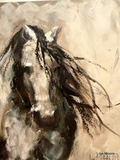 Lisa Moore I'm not much of on pictures with horses but, this is nice