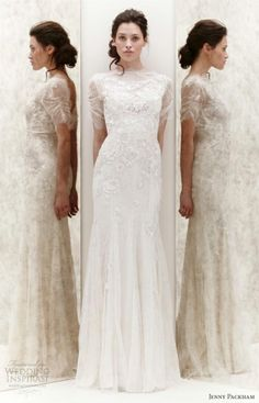 Dress - Weddbook @Audrey Smith !!! Glad to see Wedding fashion becoming more modest!