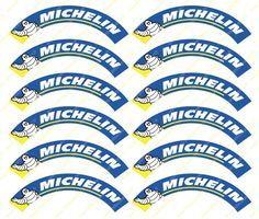 Michelin autocollant stickers