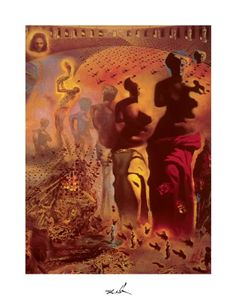 A great Salvador Dali poster - The Hallucinogenic Toreador is a masterpiece of surrealist painting! Check out the rest of our excellent selection of Salvador Dali posters! Need Poster Mounts. Salvador Dali Museum, Salvador Dali Art, Dali Artwork, Framed Art Prints, Poster Prints, Art Posters, Spanish Painters, Art Walk, Fine Art