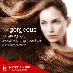 Washing your hair with lukewarm water is always better.  Who knew getting your hair to make you look hotter is so easy!  #hair #haircare #tips #haircaretips #style #beauty #lifestyle #protip #Fashion #naturalbeauty