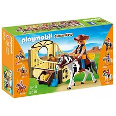 Playmobil Country 5516 - Rodeo Horse with Stall