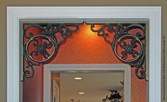 Faux Wrought Iron Decorative Bracket by tvonschimo, via Flickr
