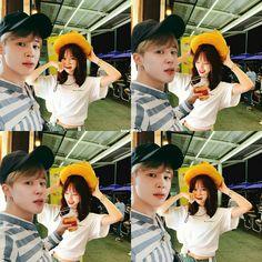 YUMIN BANGCHIN ♡ Bts, Jimin, Hidden Love, Kpop Couples, My Youth, Kpop Aesthetic, Sooyoung, Best Couple, Kpop Groups