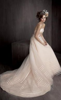 Lazaro LZ3505: buy this dress for a fraction of the salon price on PreOwnedWeddingDresses.com
