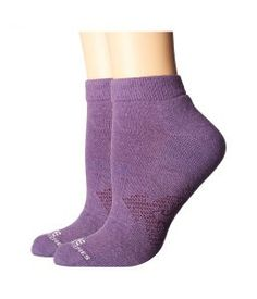 Carhartt Force Extremes Low Cut 2-Pack (Purple) Women's Low Cut Socks Shoes