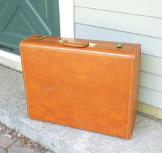 RESERVED for kemac1955 Vintage Samsonite suitcase by indiecreativ