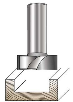 MLCS bottom cleaning router bits