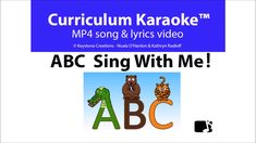 Singing Lessons Videos For Kids Teachers Key: 1789583219 Singing Lessons, Singing Tips, Alphabet Song Video, Lyrics Website, Phonics Song, Word Pictures, Songs To Sing, Curriculum, Learning