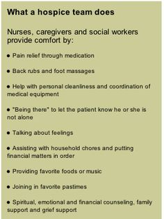 explains..what is hospice? - Google Search...hospice workers are the best!