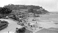Balneario de Quintero en el año 1920. Ciudad reconocida por sus leyendas de piratas y corsarios.