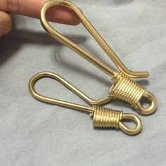 Raw Solid Brass Chain End Connector Clasp Keychain Keyring Coil Fob Decor Holder Hardware Findings Accessories Leathercraft Wholesale Bulk Copper Electrical Wire, Men Accesories, Accessories, Copper Cleaner, Hardware Jewelry, Purse Strap, Brass Chain, Wholesale Jewelry, Leather Craft