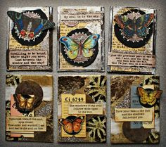Artist Trading Card - ATC Series - For Abandonment - Junquemail Contessa
