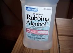 Rubbing Alcohol for pimples! This really works, and makes them appear smaller and less red in an hour or two. Works amazing, just put some on a Q-tip and dab onto the pimple! Must try this!