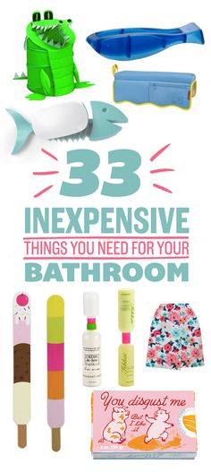 33 Awesome And Inexpensive Things You Need For Your Bathroom