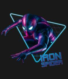 Iron Spider-Man - Avengers Infinity war and EndGame Marvel Comics, Marvel E Dc, Marvel Comic Universe, Comics Universe, Marvel Heroes, Marvel Avengers, Iron Spider, Marvel Wallpaper, Spider Verse